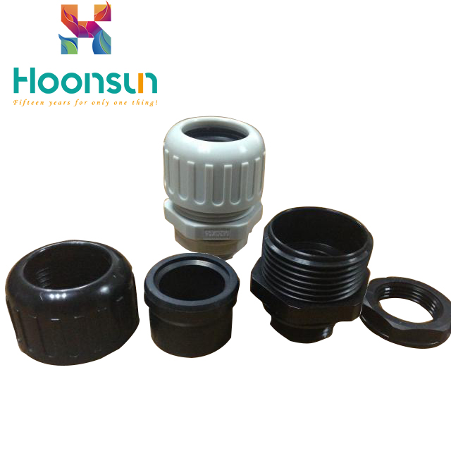 waterproof nylon powerful corrugated pipe fittings