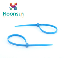 high quality Yueqing Good Reputation Customized High Quality Nylon Cable Tie With Label from hongxiang