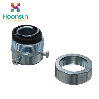 hot-selling galvanized steel high quality Flexible Conduit Connector