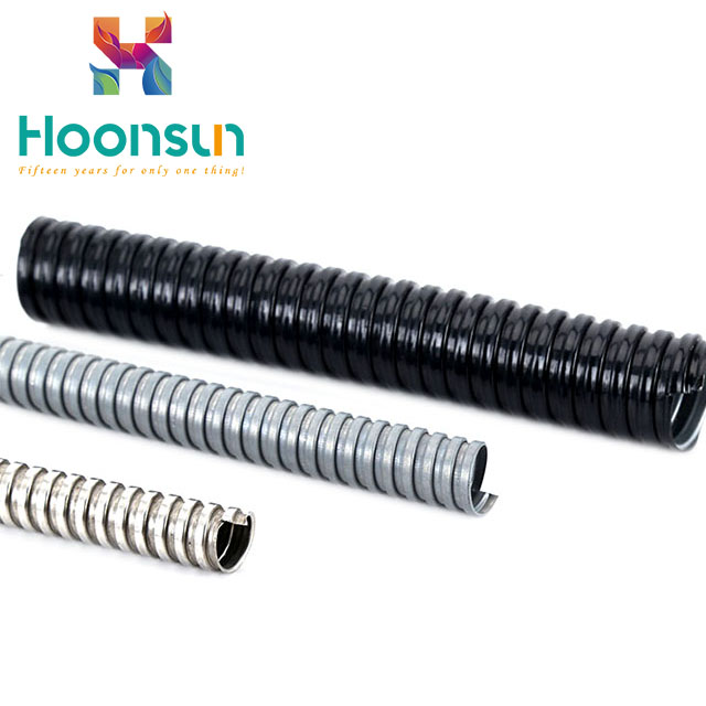 PVC jacketed metallic grey metal flexible conduit price