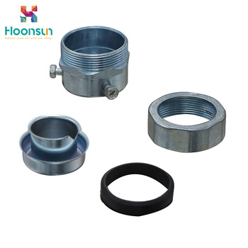 YUEQING galvanized steel high quality Flexible Conduit Connector